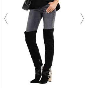 Jimmy Choo Doma suede over-the-knee boots